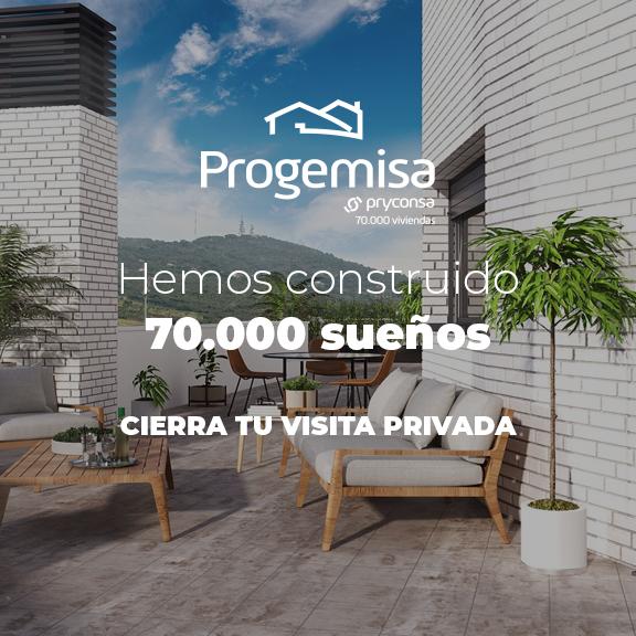 Progemisa 70000 viviendas